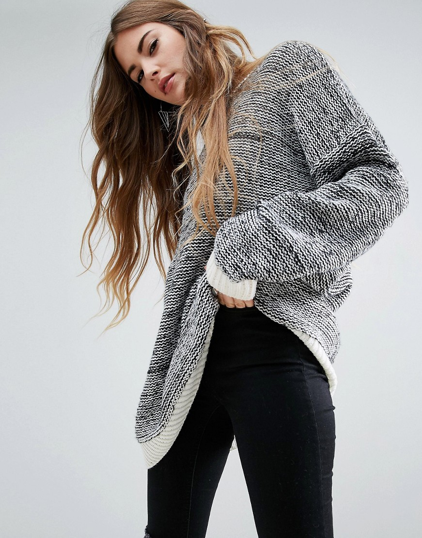 Oversized Jumper In Twisted Yarn
