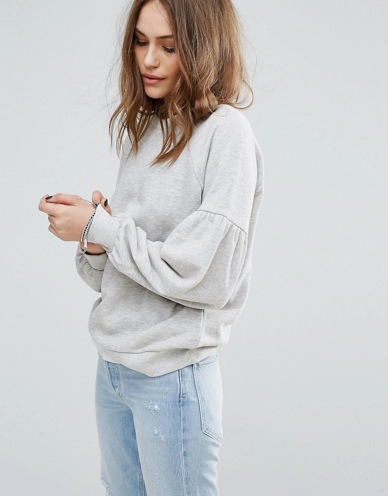 Vero Moda Balloon Sleeve Sweatshirt