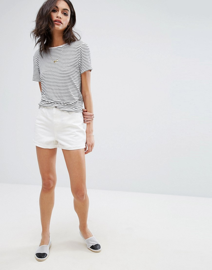 Vero Moda Highwaisted DENIM Boyfriend Shorts