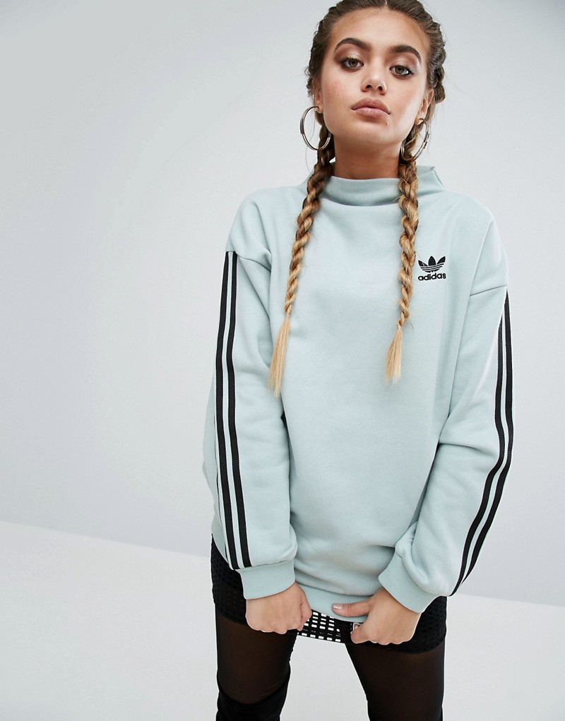 adidas Three Stripe Sweatshirt