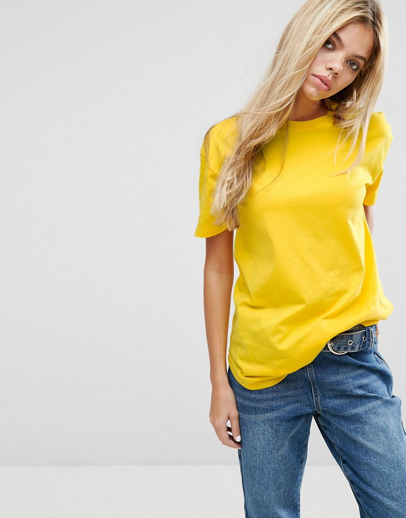 Ultimate Curved Hem Boyfriend T-Shirt