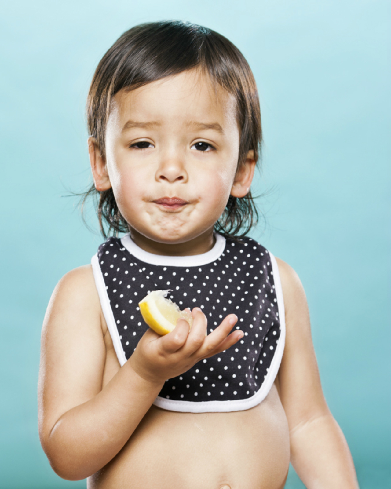 Toddlers Tasting Lemon For the First Time