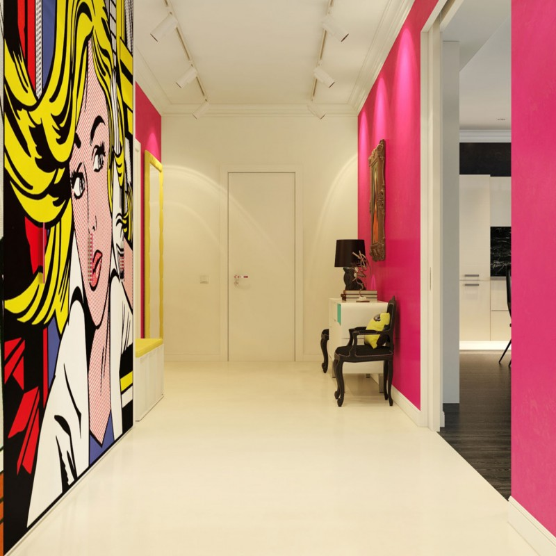 Modern Pop Art Interior by Dmitriy Schuka 01