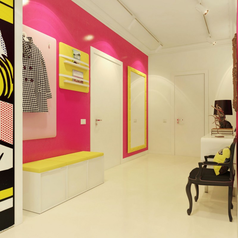 Modern Pop Art Interior by Dmitriy Schuka 02