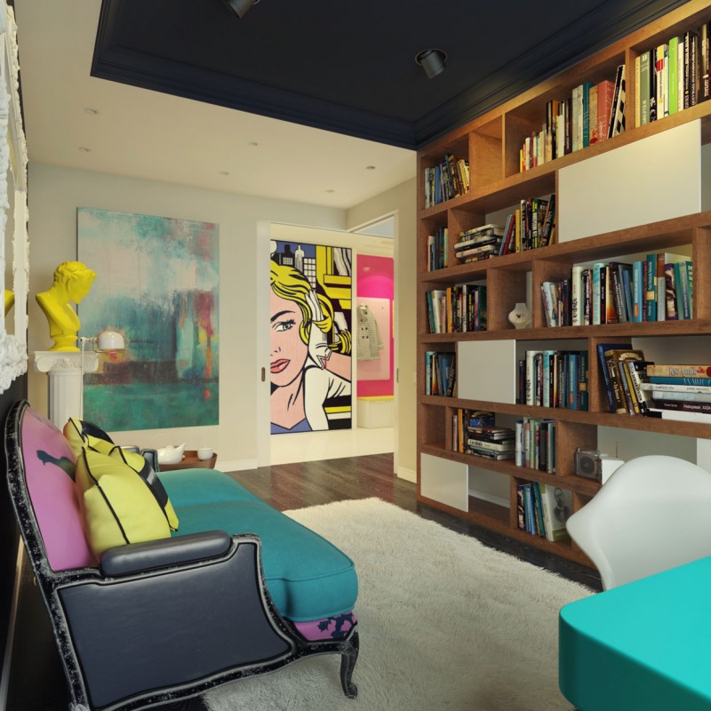 Modern Pop Art Interior by Dmitriy Schuka 19