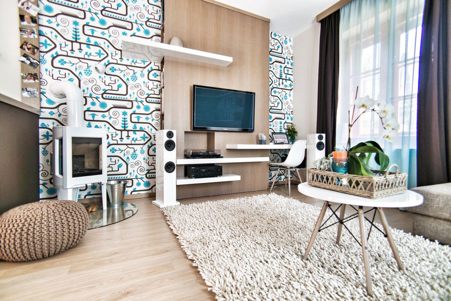 Vibrant Apartment in Budapest by Csorba Anita 01