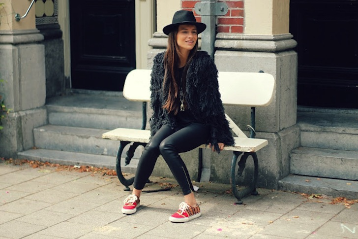 Trendreport - Bloggers in fur - Lizzy van de ligt