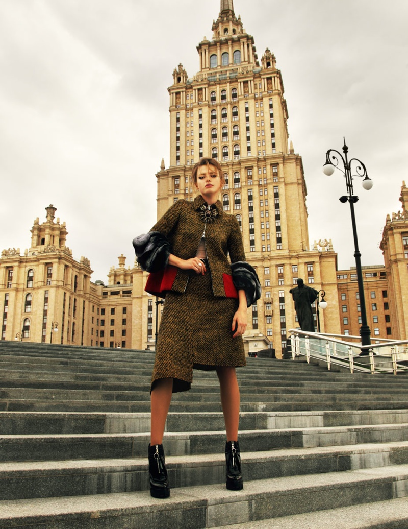 Anastasia Kuznetsova For Elle Russia December 2013 07