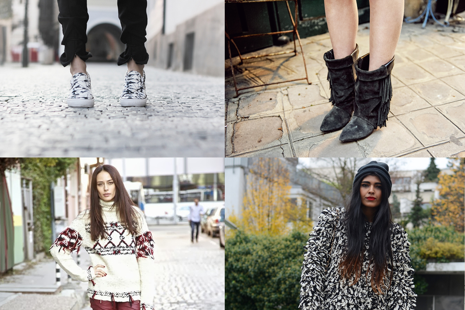 Bloggers wearing Isabel Marant pour H&M copy