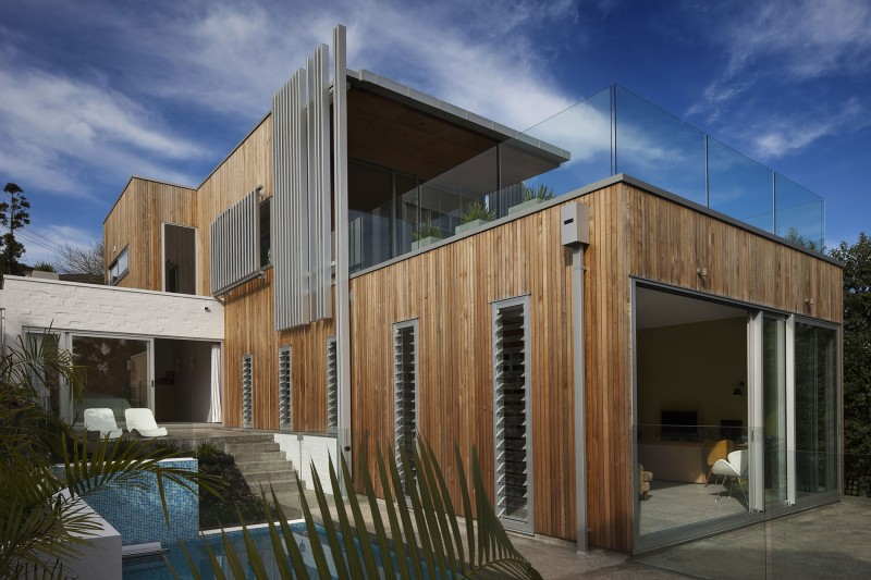 Brown Vujcich House by Bossley Architects 01