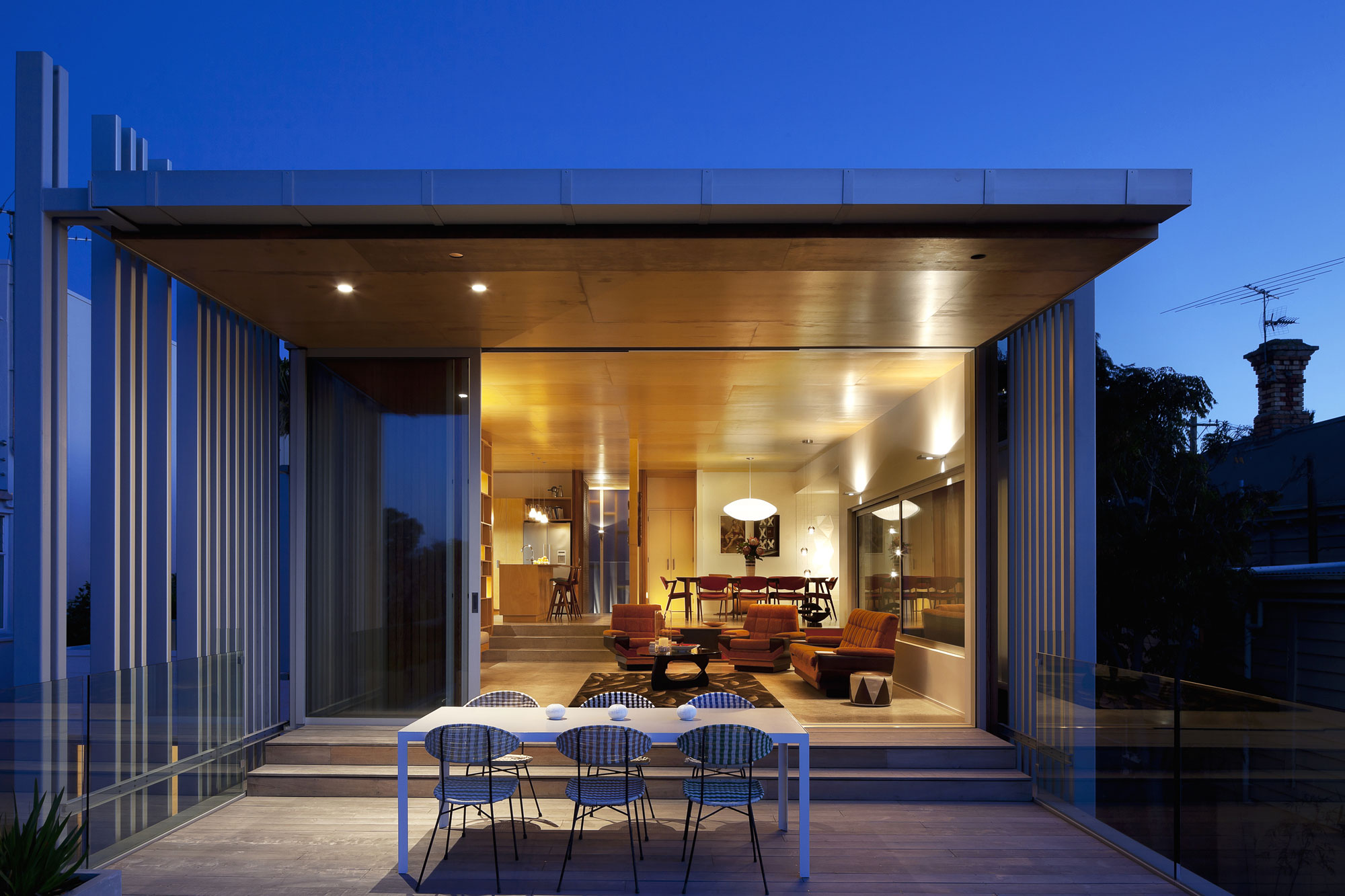 Brown Vujcich House by Bossley Architects 12