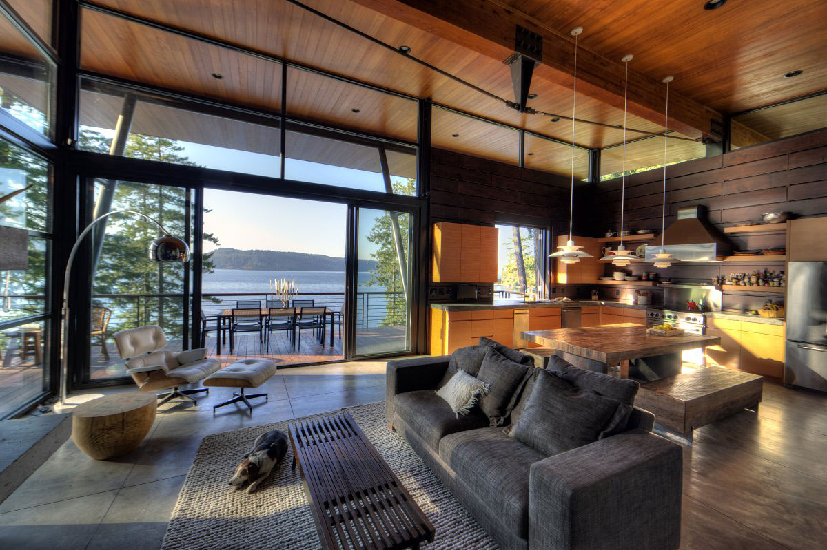 coeur d'alene residence by uptic studios  ootd magazine - american architectural firm uptic studios has designed the coeur d'aleneresidence