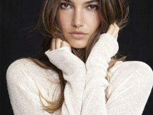 Lily Aldridge For Velvet Spring 2014 Collection
