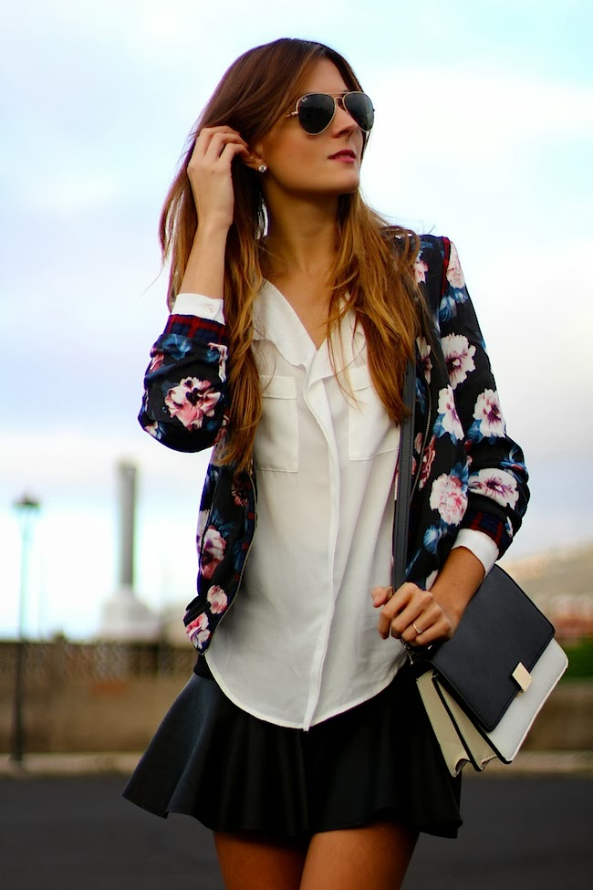 TREND Bloggers wearing the bomber jacket 12
