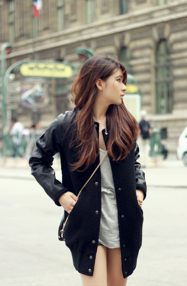 TREND Bloggers wearing the bomber jacket 16