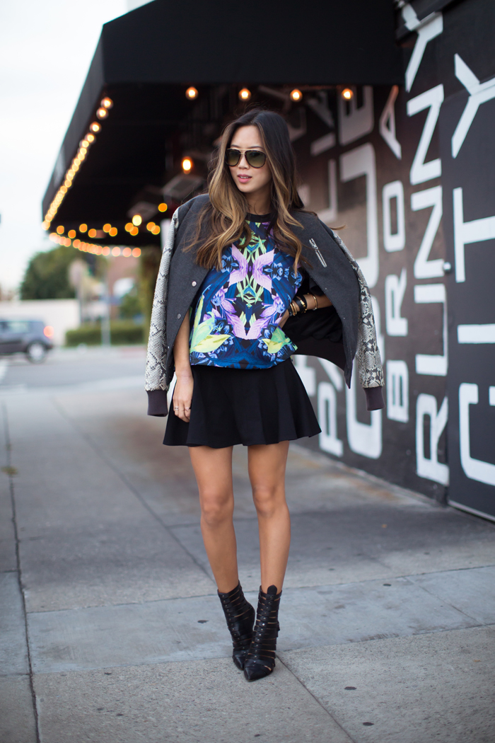 TREND Bloggers wearing the bomber jacket 3
