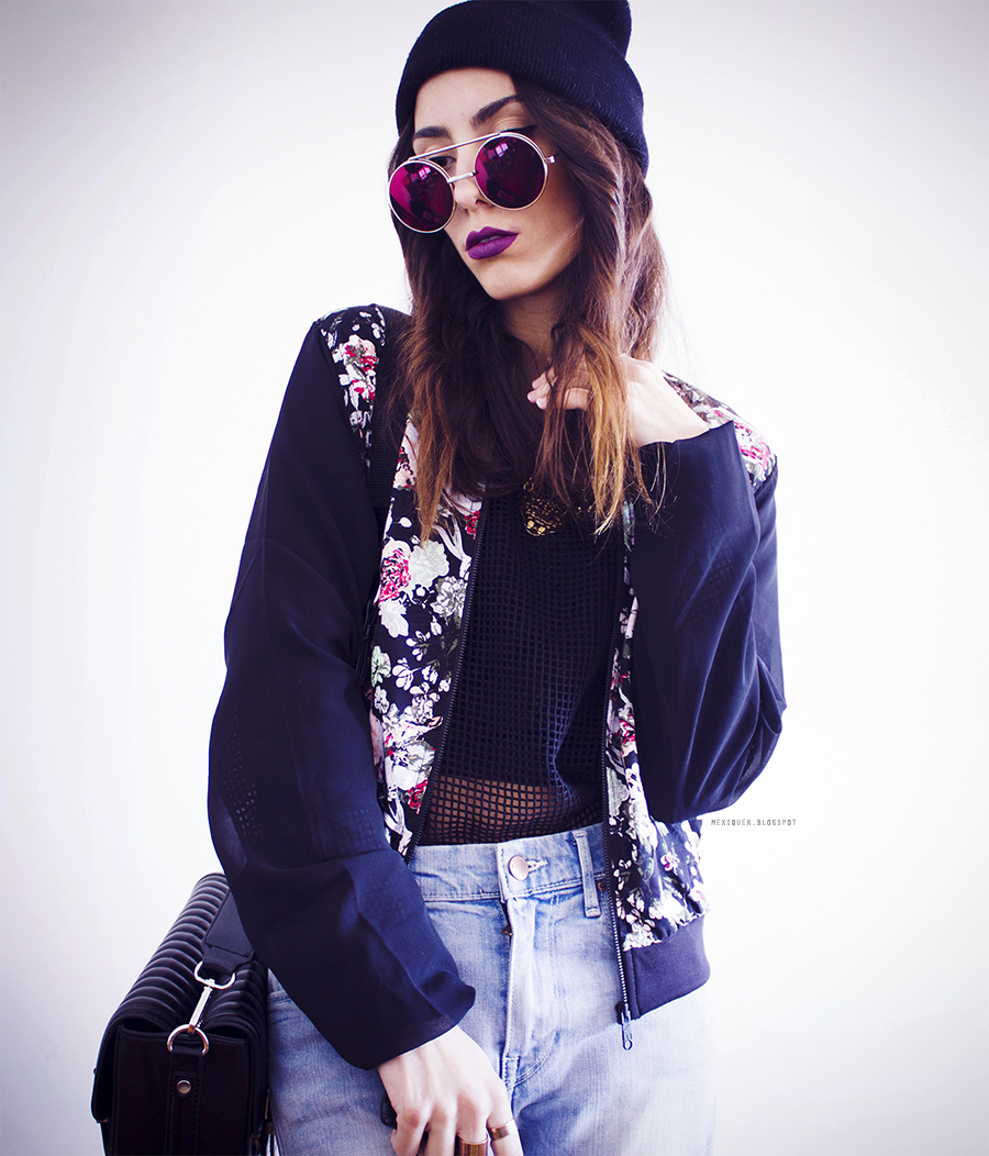 TREND Bloggers wearing the bomber jacket 4