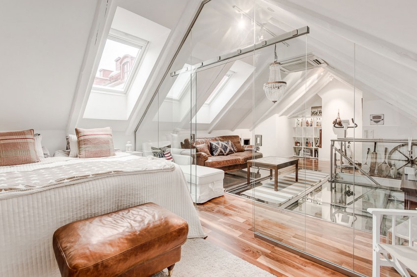 An Elegant Attic on Norrbackagatan 11