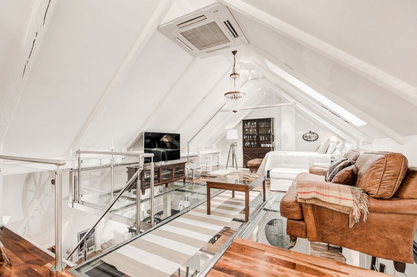 An Elegant Attic on Norrbackagatan 12