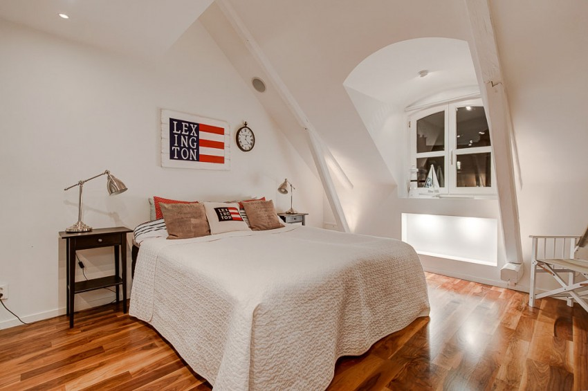 An Elegant Attic on Norrbackagatan 15