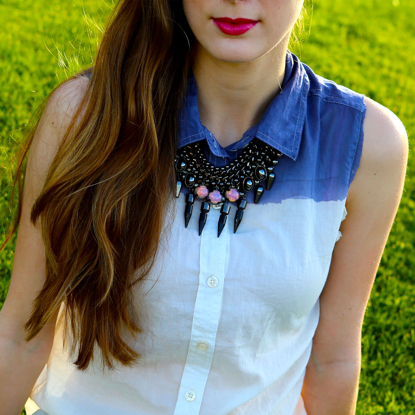 DIY-Ombre-Button-Up-Shirt-Video