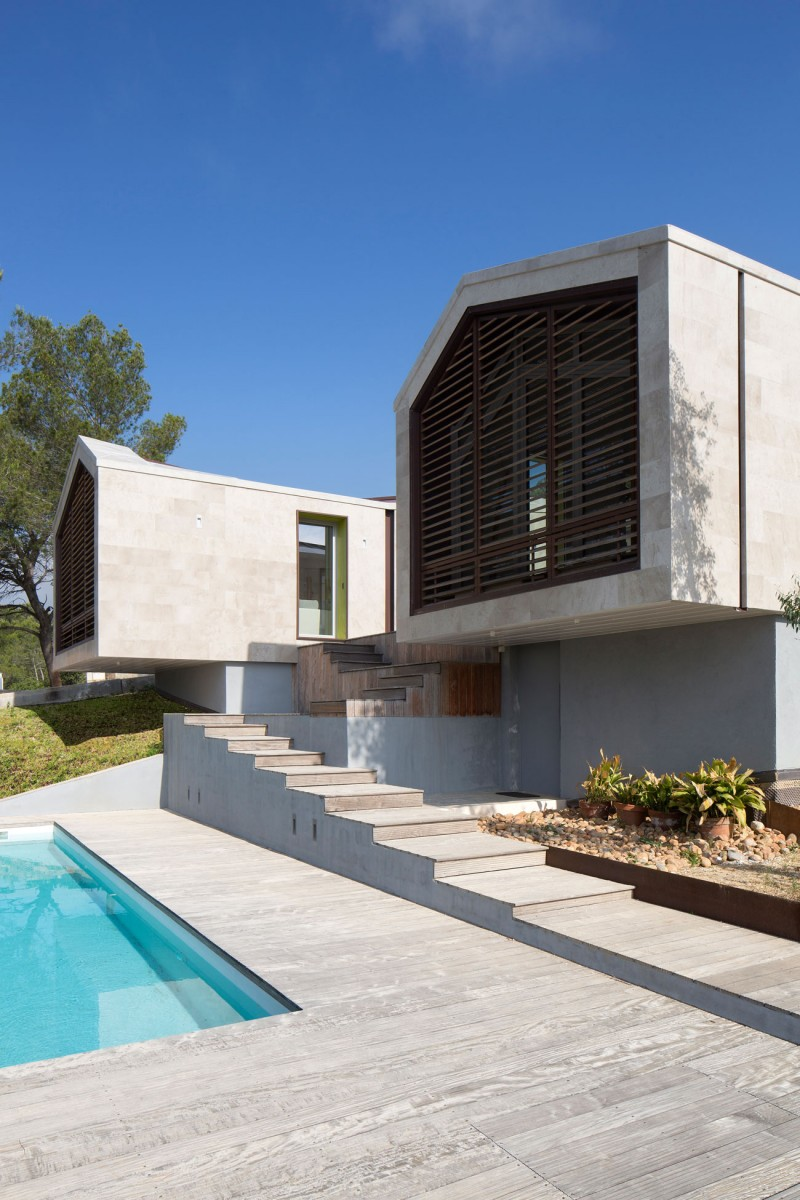 Home in Montpellier by N+B Architectes 07