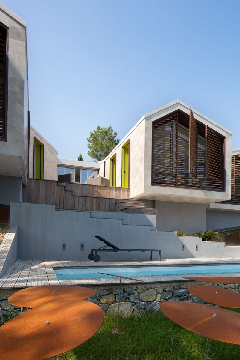 Home in Montpellier by N+B Architectes 08