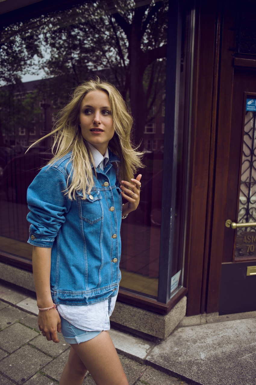 TREND denim on denim - double denim - OOTD Magazine 10