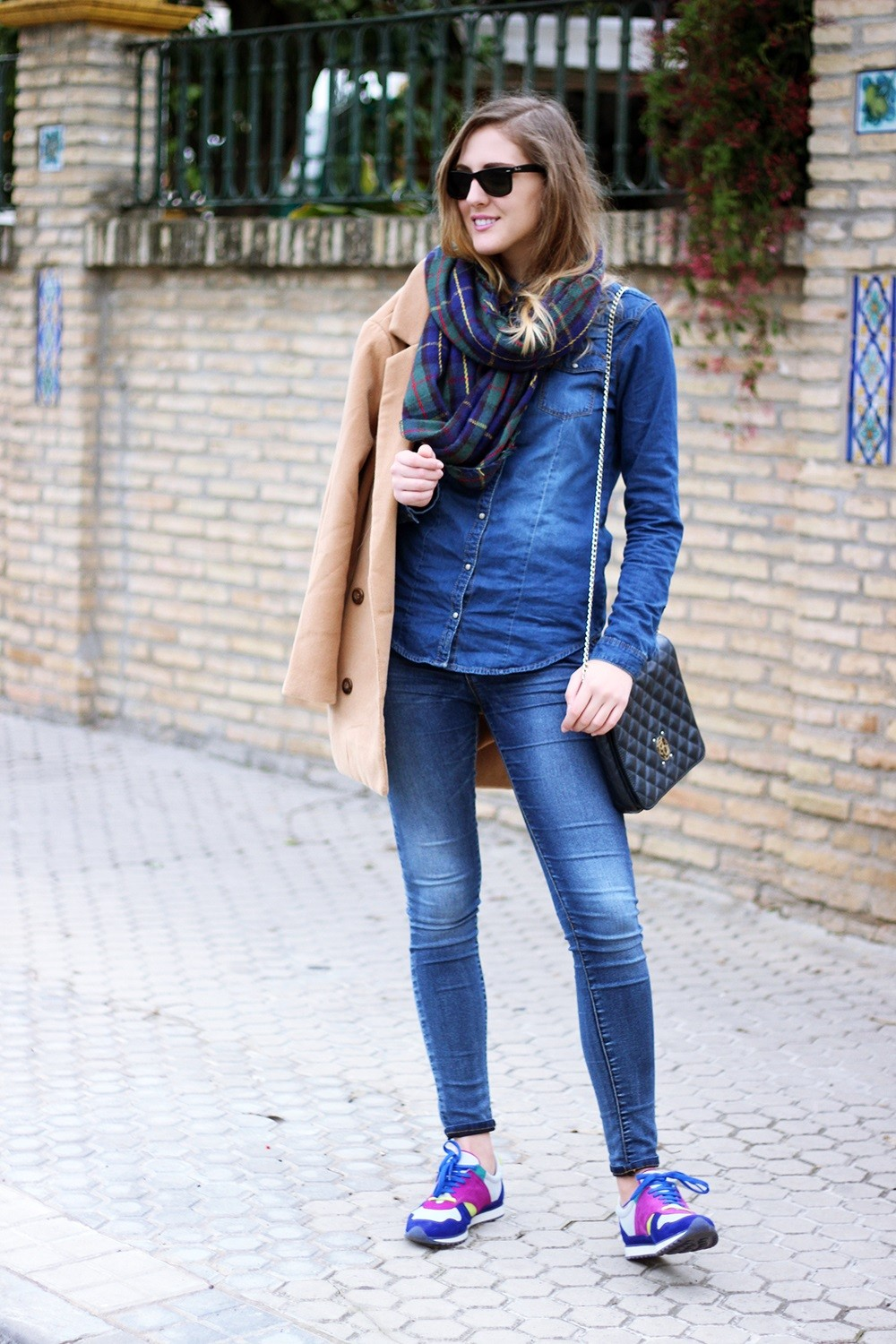 TREND denim on denim - double denim - OOTD Magazine 13