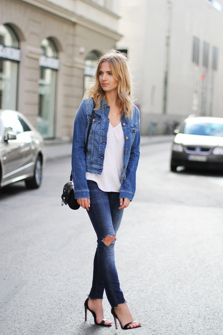 TREND denim on denim - double denim - OOTD Magazine 16