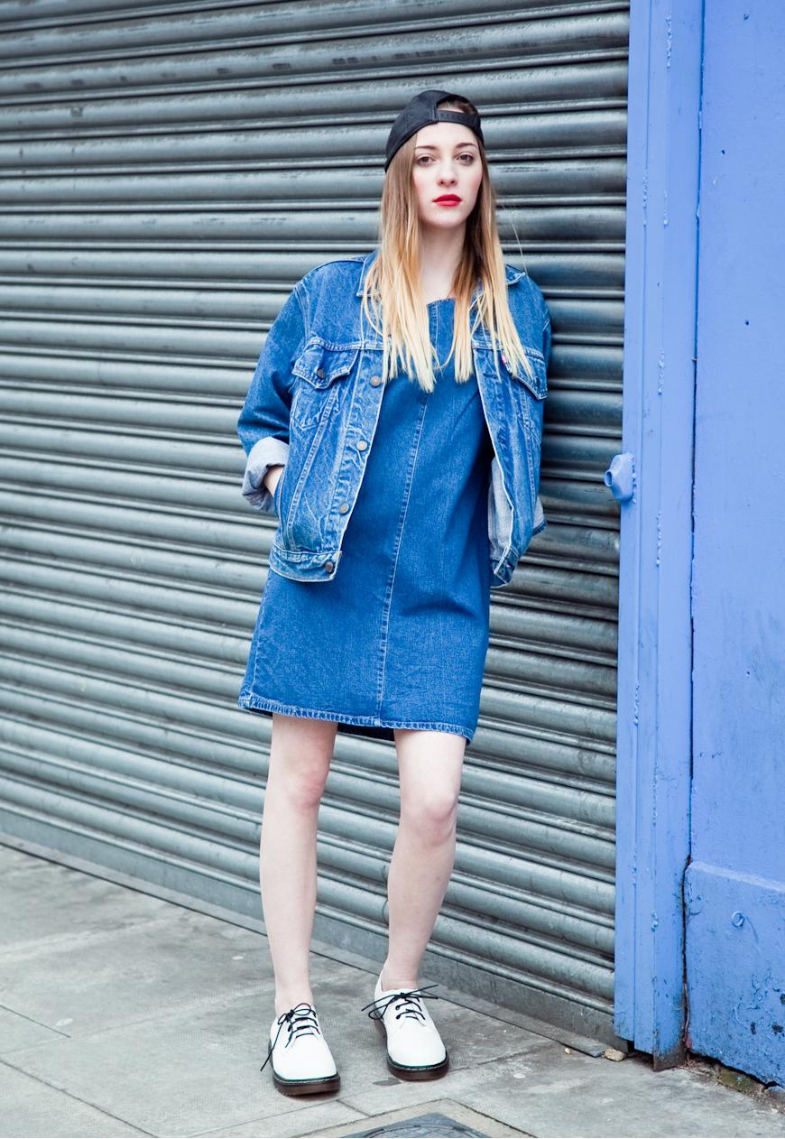 TREND denim on denim - double denim - OOTD Magazine 2