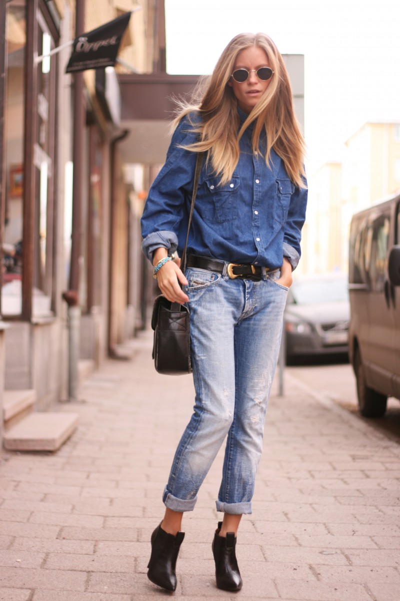 TREND denim on denim - double denim - OOTD Magazine 23