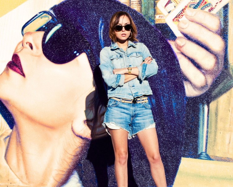 TREND denim on denim - double denim - OOTD Magazine 24