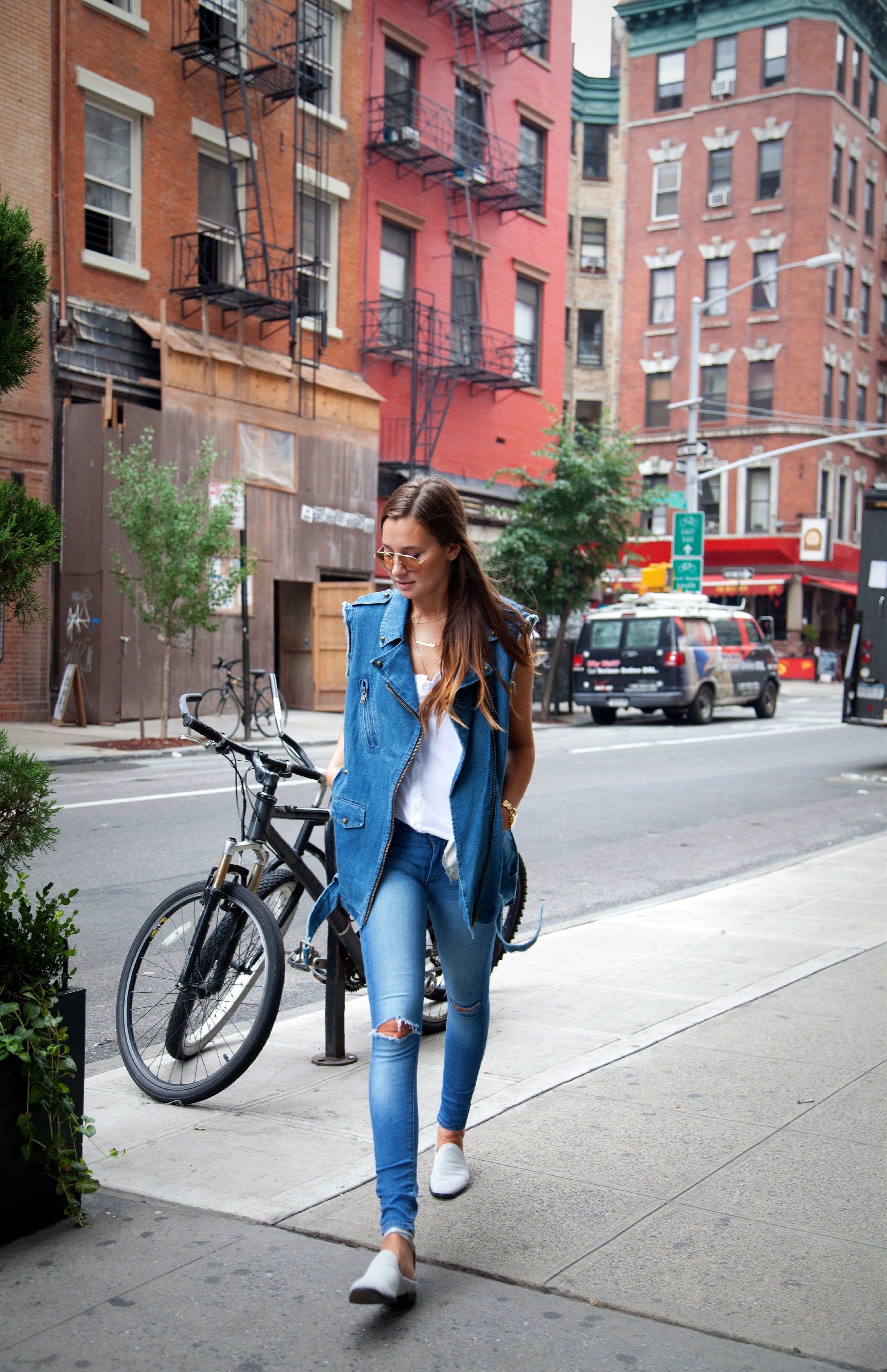 TREND denim on denim - double denim - OOTD Magazine 27