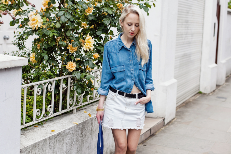 TREND denim on denim - double denim - OOTD Magazine 3