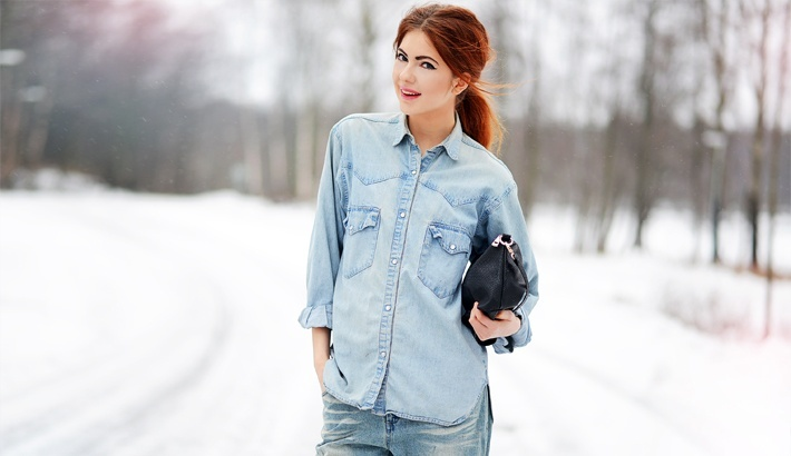 TREND denim on denim - double denim - OOTD Magazine 5