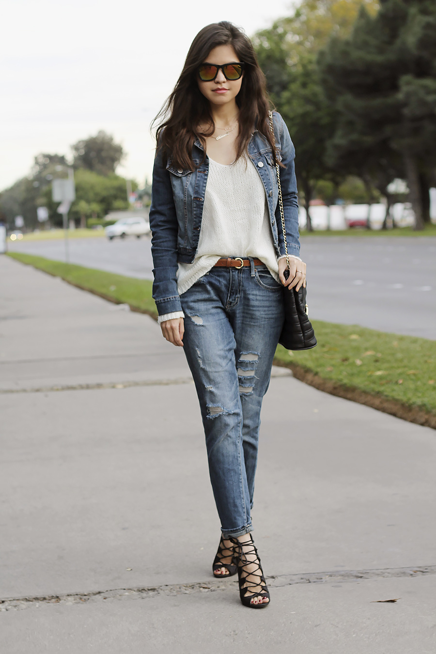 TREND denim on denim - double denim - OOTD Magazine 6
