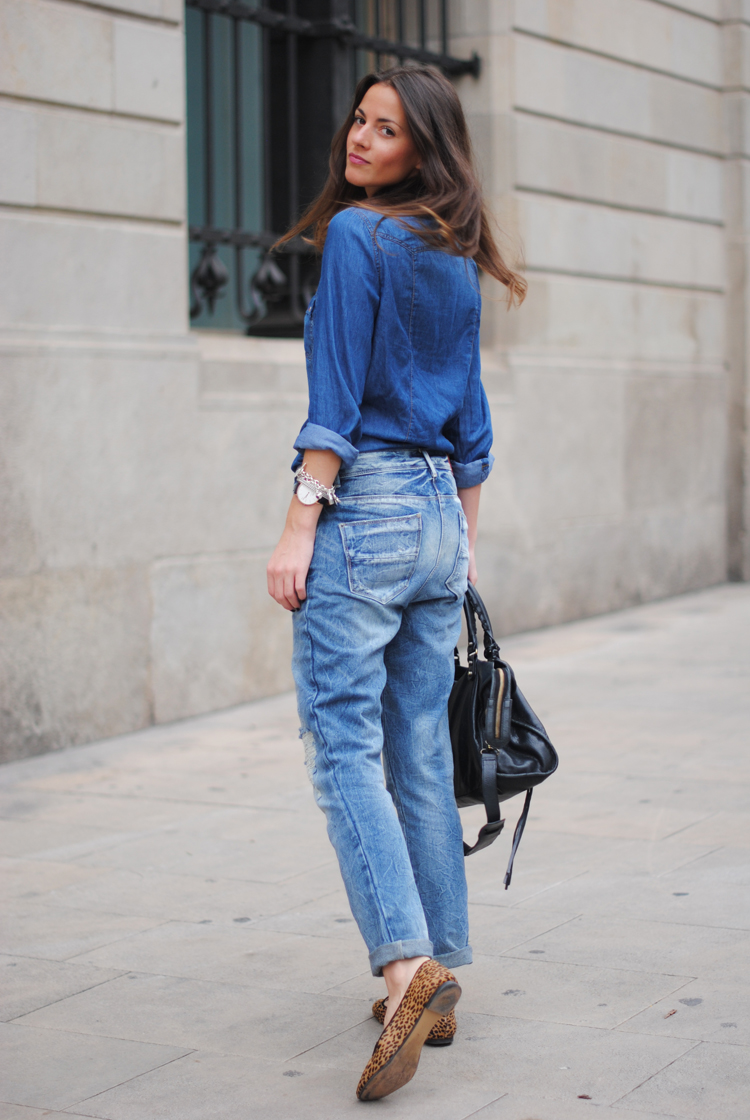 TREND denim on denim - double denim - OOTD Magazine 9