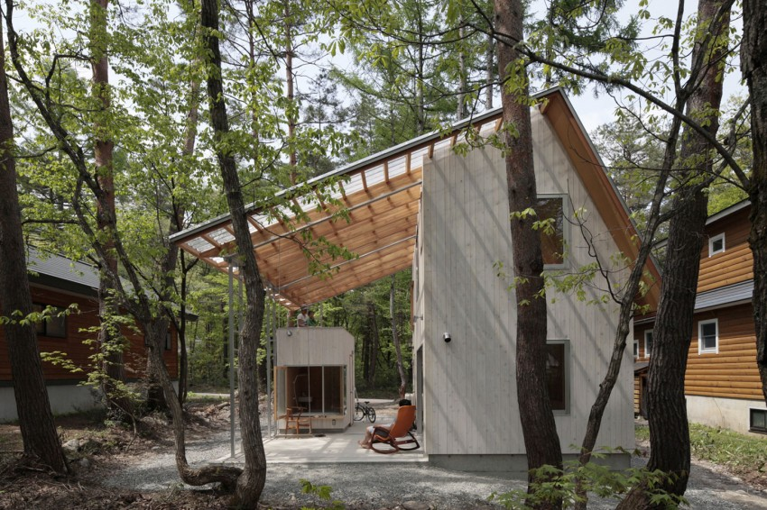 Villa in Hakuba by Naka Architects 02