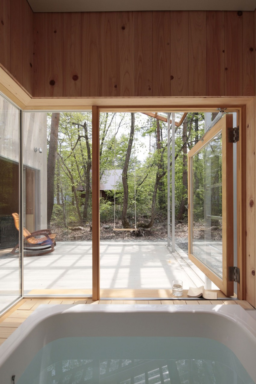 Villa in Hakuba by Naka Architects 06