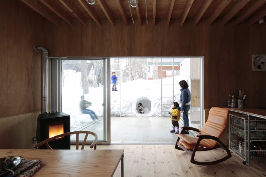 Villa in Hakuba by Naka Architects 08