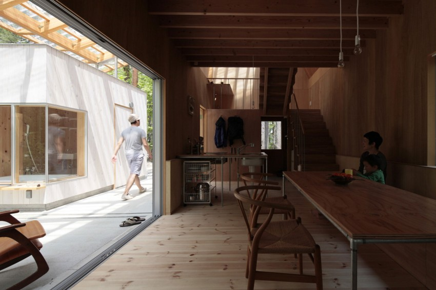 Villa in Hakuba by Naka Architects 10