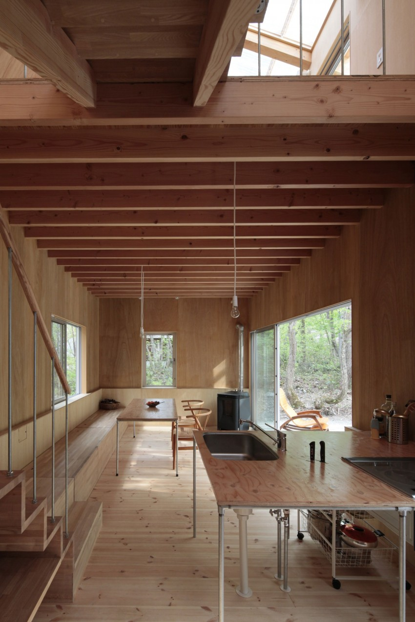 Villa in Hakuba by Naka Architects 11