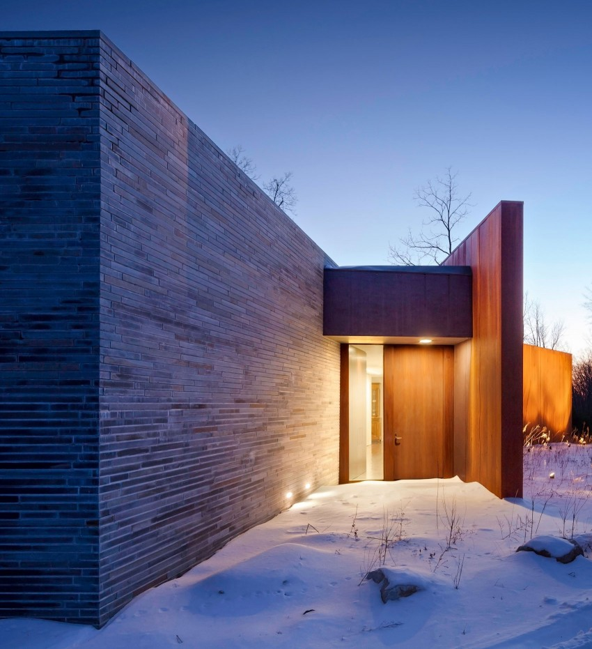 A House In The Woods by William Reue Architecture 10