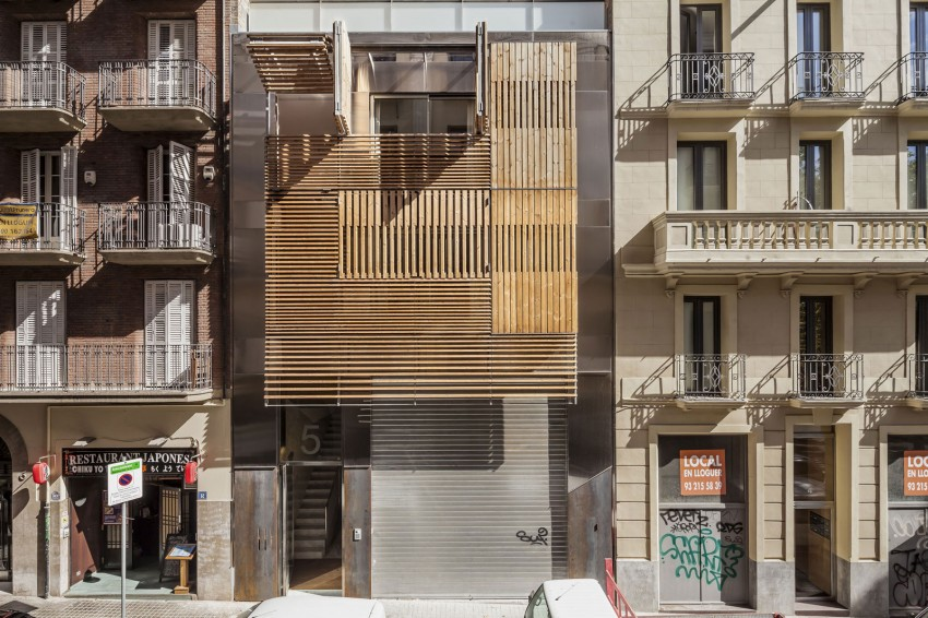 Dwellings in Barcelona by Josep Lluís Mateo 03
