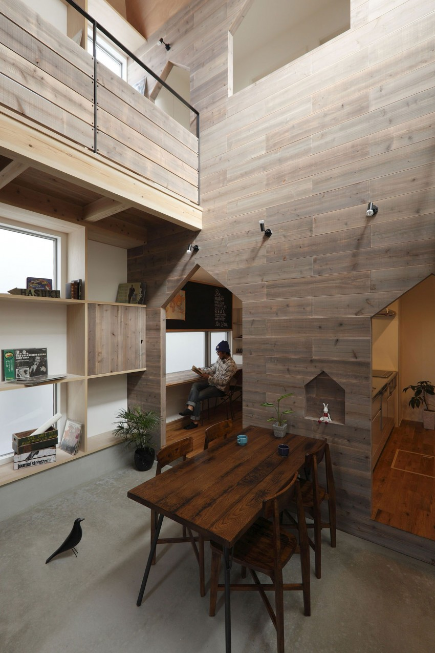 Hazukashi House by ALTS DESIGN OFFICE 03
