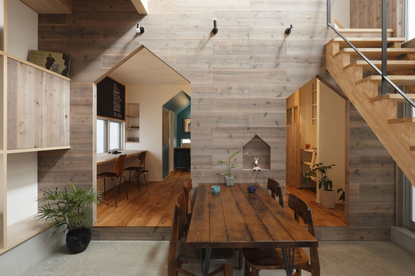 Hazukashi House by ALTS DESIGN OFFICE 04