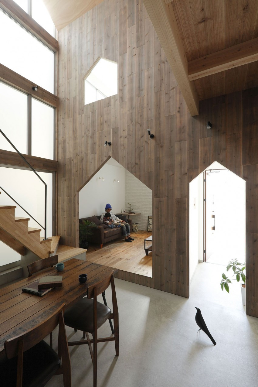 Hazukashi House by ALTS DESIGN OFFICE 06