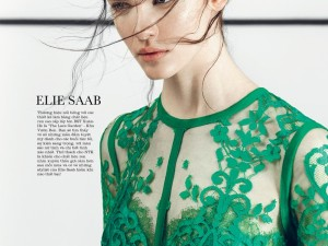 Isabelle Nicolay For Elle Vietnam