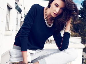 Jacquelyn Jablonski and Martha Hunt For Juicy Couture Fall 2014